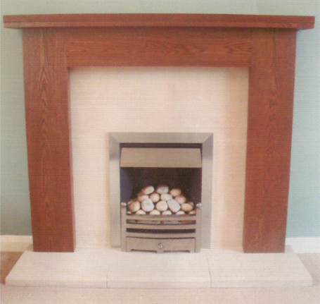 Dublin Solid Oak Mantel